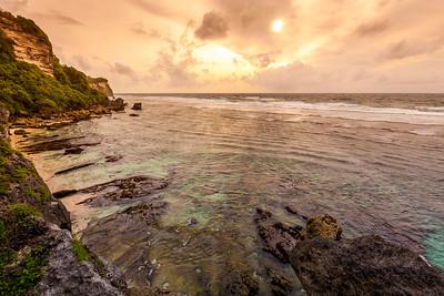 Wild Uluwatu coast