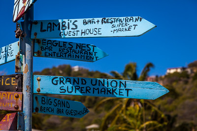 Roadsign at Union Island