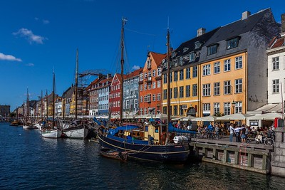 Along the canal at Nyhavn
