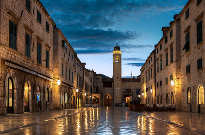 The Dubrovnik Stradun || Croatia