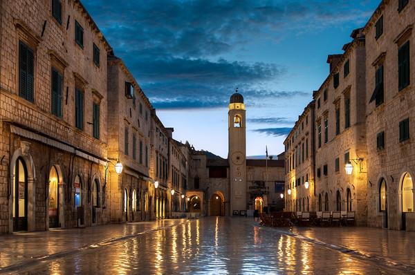 The Dubrovnik Stradun || Croatia