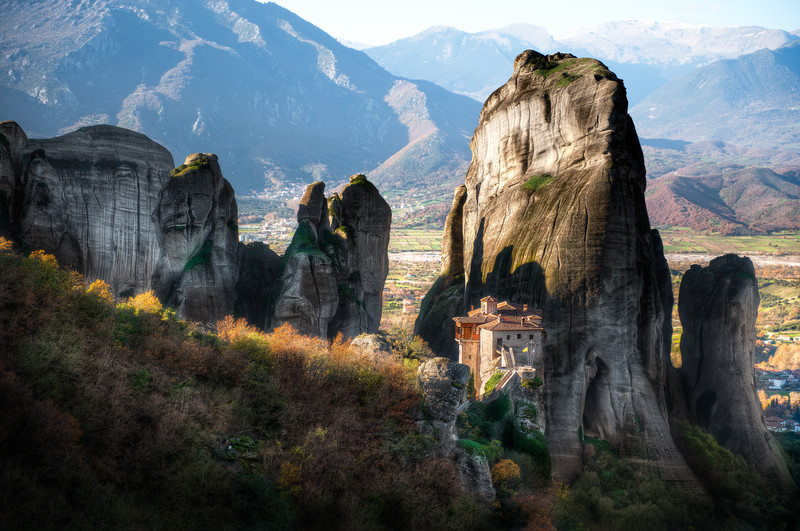 Meteora - Morning Highlights || Greece