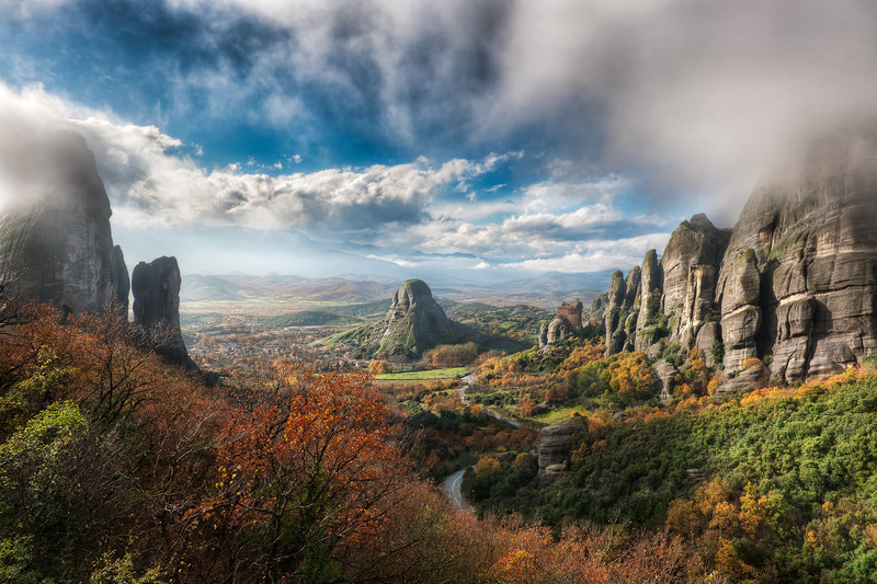 The Valley Of Fog || Meteora Greece