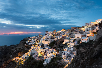 The Heart of Santorini || Oia Greece