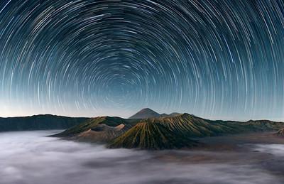 Sleeping Giants    Mt Bromo Indonesia