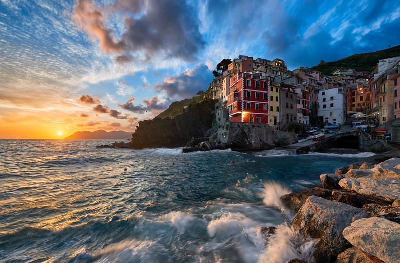 In Harmony With The Sea || Riomaggiore Italy