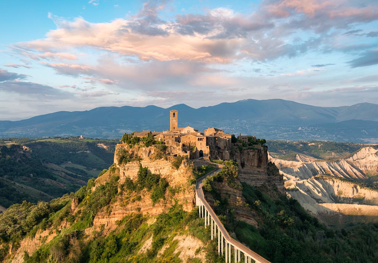 Castle In The Sky || Bagnoregio Italy