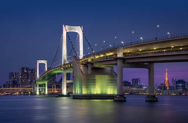 The Rainbow Bridge || Tokyo Japan
