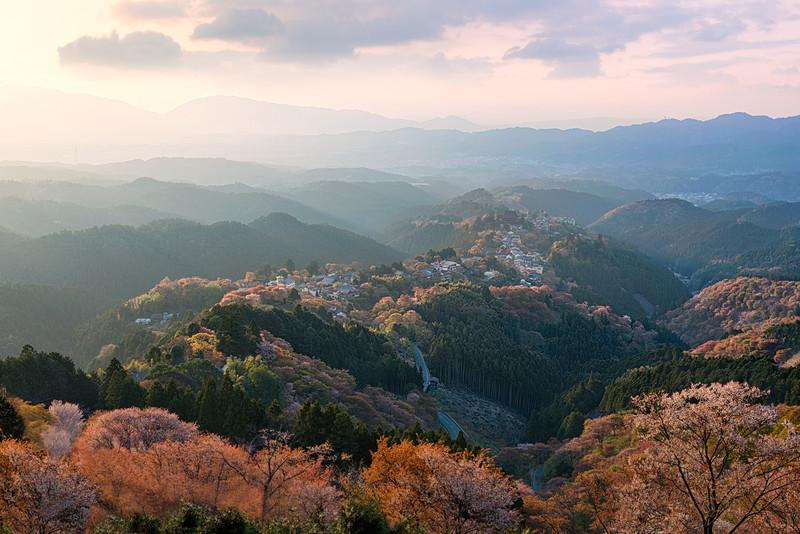 Sacred Mountain    Yoshino Japan