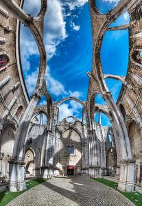 The Convent - Ruínas do Carmo    Lisbon Portugal