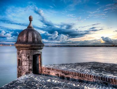 La Garita del Morro - (Viejo (0ld) San Juan, Puerto Rico)