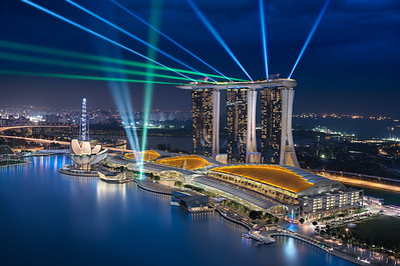Sapphire Dreams || Marina Bay Singapore