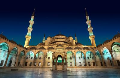 The Majestic Courtyard    Istanbul Turkey