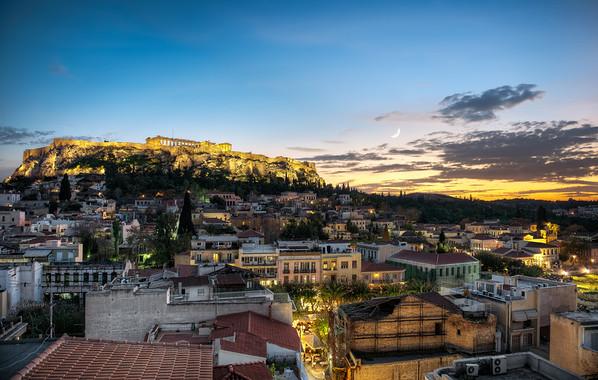 Athína twilight || Athens Greece