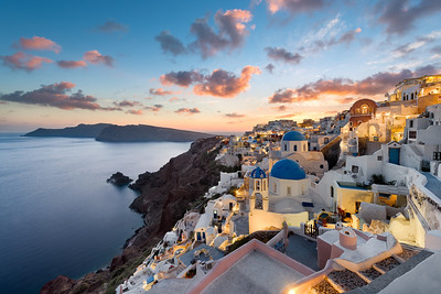 Sunset Dreams || Oia Santorini