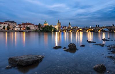 Bohemian Blues    Prague Czech Republic