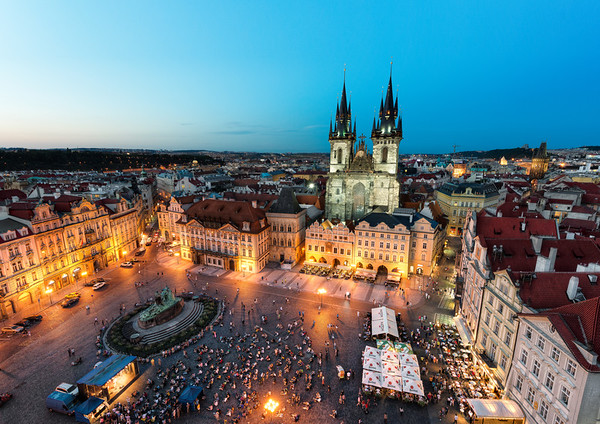 Prague By Night    Czech Republic