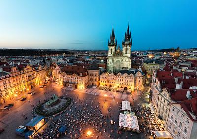 Prague By Night || Czech Republic