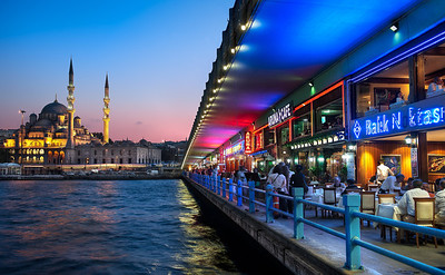 Beyond Galata Bridge || Istanbul Turkey