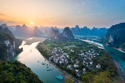 Beyond Karst Peak || Xingping China