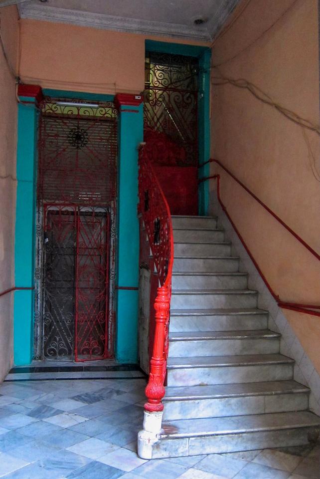 Havana staircase