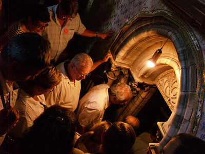 Church of the Nativity, Entrance to The Manger site, Bethlehem, West Bank