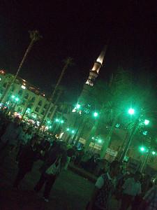 Midnight during Ramadan, Cairo, Egypt