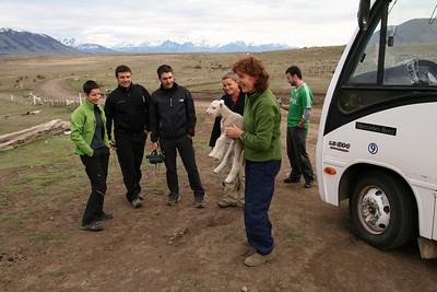 Tour to the Perito Moreno