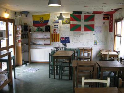 'Los cormoranes', the hostel in Ushuaia