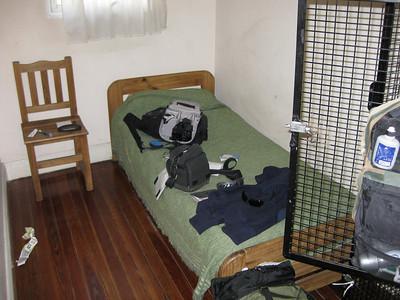 My room at BA's hostel