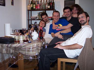 New York. Partying at María's
