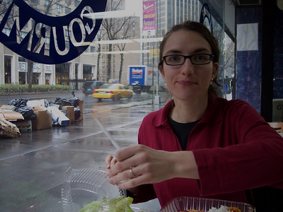 New York. Lunch time!