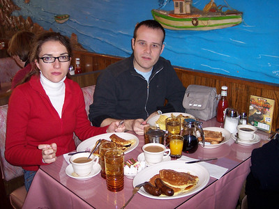 New York. Breakfast at our dearest Ambrosia in First Ave.