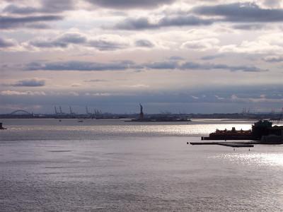 New York. Upper New York Bay