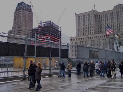 New York. The World Trade Center
