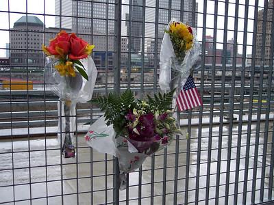 New York. The World Trade Center... In memoriam