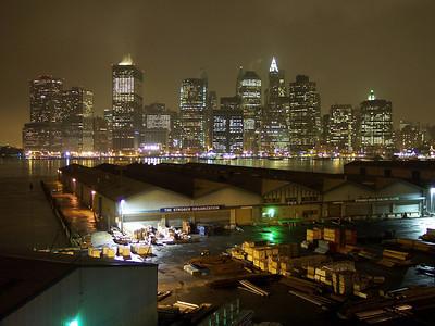 New York. Manhattan from Heights Promenade