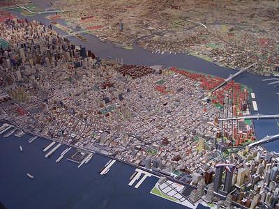 New York. Panorama of New York: Manhattan