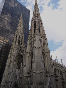 New York. St Patrick's cathedral