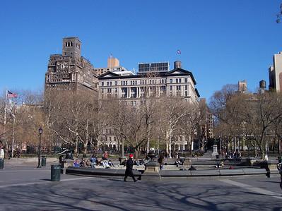 New York. Washington square