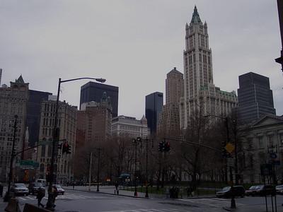 New York. City Hall Park