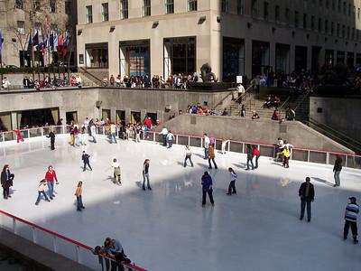 New York. Rockefeller plaza