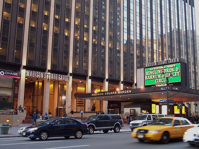 New York. Madison Square Garden