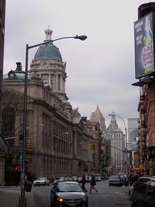 New York. Towards Little Italy
