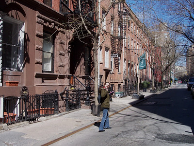New York. Greenwich Village