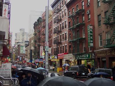 New York. Chinatown
