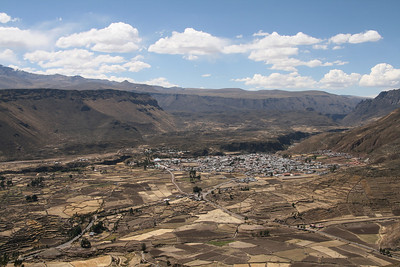 Colca Valley. Chivay