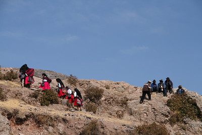 Lake Titicaca. Amantaní island