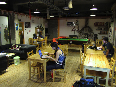 The Blue Mountain Youth Hostel in Shanghai