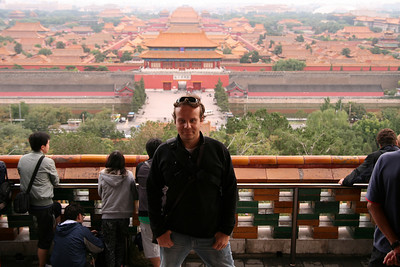 The Forbidden City from the Jingshan Park, Beijing, China